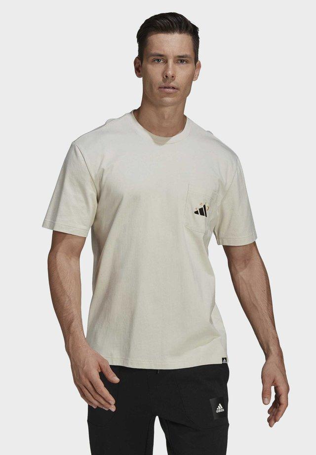 MANDALA - Print T-shirt - beige