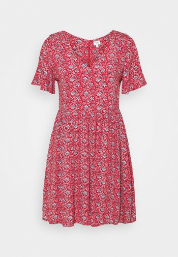 CAROLINA - Day dress - red