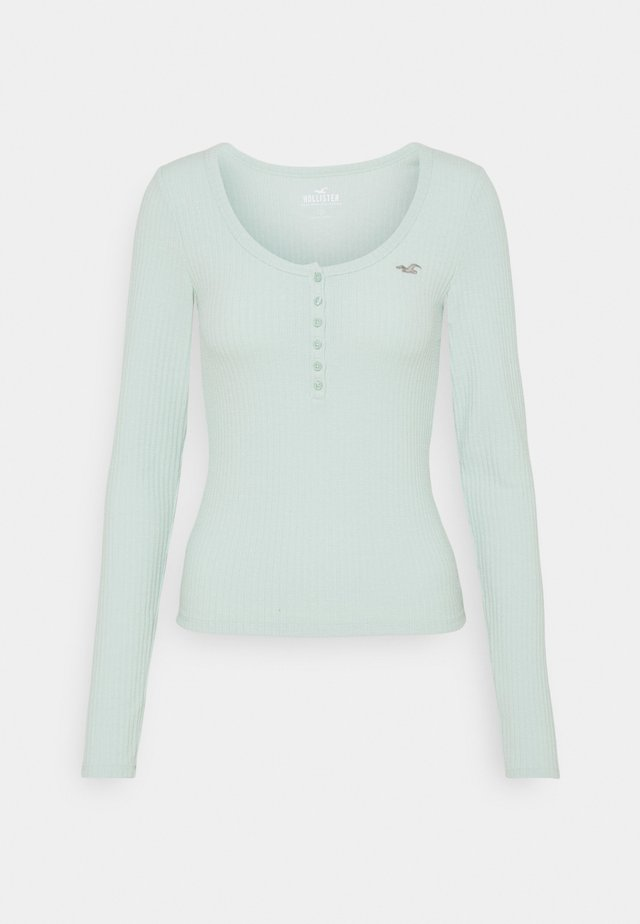 ICON HENLEY - Maglietta a manica lunga - light green/mint