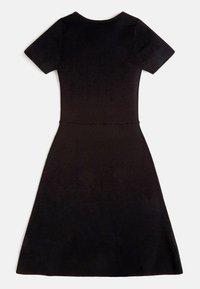 Guess - RIPPEN - Day dress - schwarz - 1