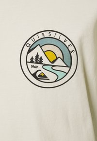 Quiksilver - MOUNTAIN VIEW - Print T-shirt - oatmeal - 2