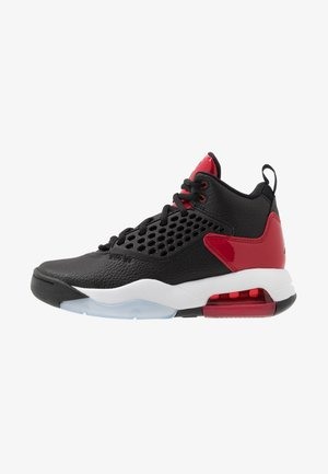 MAXIN 200 - Basketball shoes - black/gym red/white