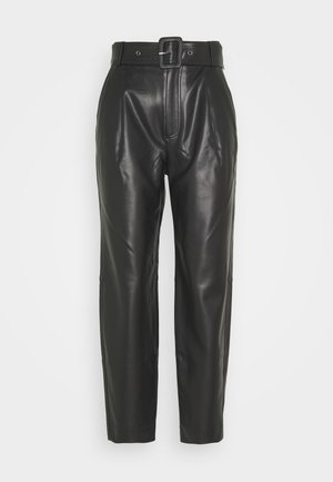ARIA TROUSERS - Trousers - black