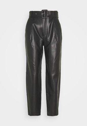 ARIA TROUSERS - Kalhoty - black