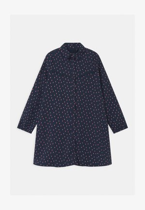 LIGHTENING BOLT PRINT  - Robe chemise - navy