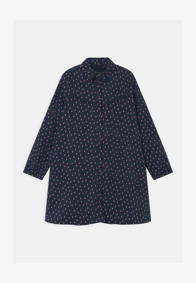 LIGHTENING BOLT PRINT  - Shirt dress - navy