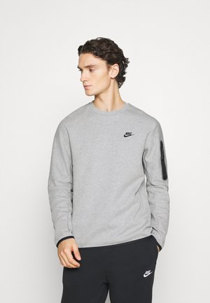 Collegepaita - grey heather/black
