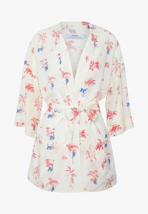KIMONO VIKEN MONKEY TREES - Summer jacket - off-white