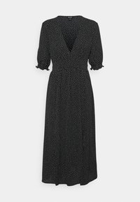 Monki - REESE DRESS - Day dress - black/off white - 5