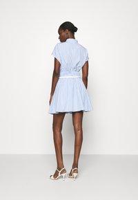 Mossman - THE CRYSTAL SEA SKIRT - A-line skirt - blue/white - 2