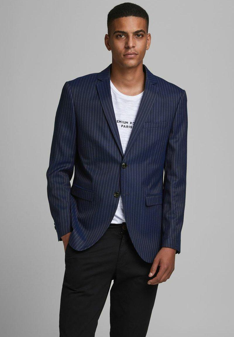 Jack & Jones PREMIUM - Blazer jacket - dark navy