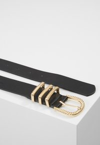 Pieces - PCCHRISTINA JEANS BELT - Riem - black/gold-coloured - 3