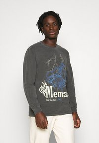 Mennace - SKELETAL MULE - Long sleeved top - dark grey - 0