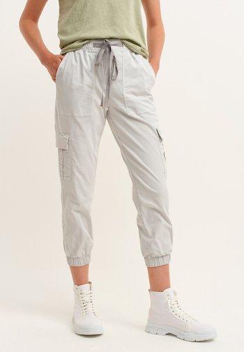 Cargo trousers - antik greylag