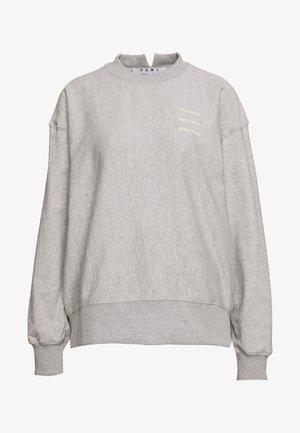 LONG SLEEVE LOGO - Sweatshirt - grey
