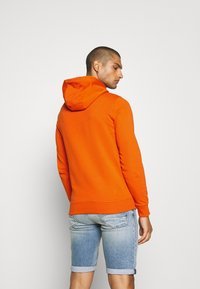 Tommy Jeans - ESSENTIAL GRAPHIC HOODIE - Sweat à capuche - bonfire orange - 2