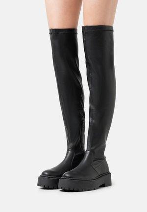 ESMEE - Stivali sopra il ginocchio - black