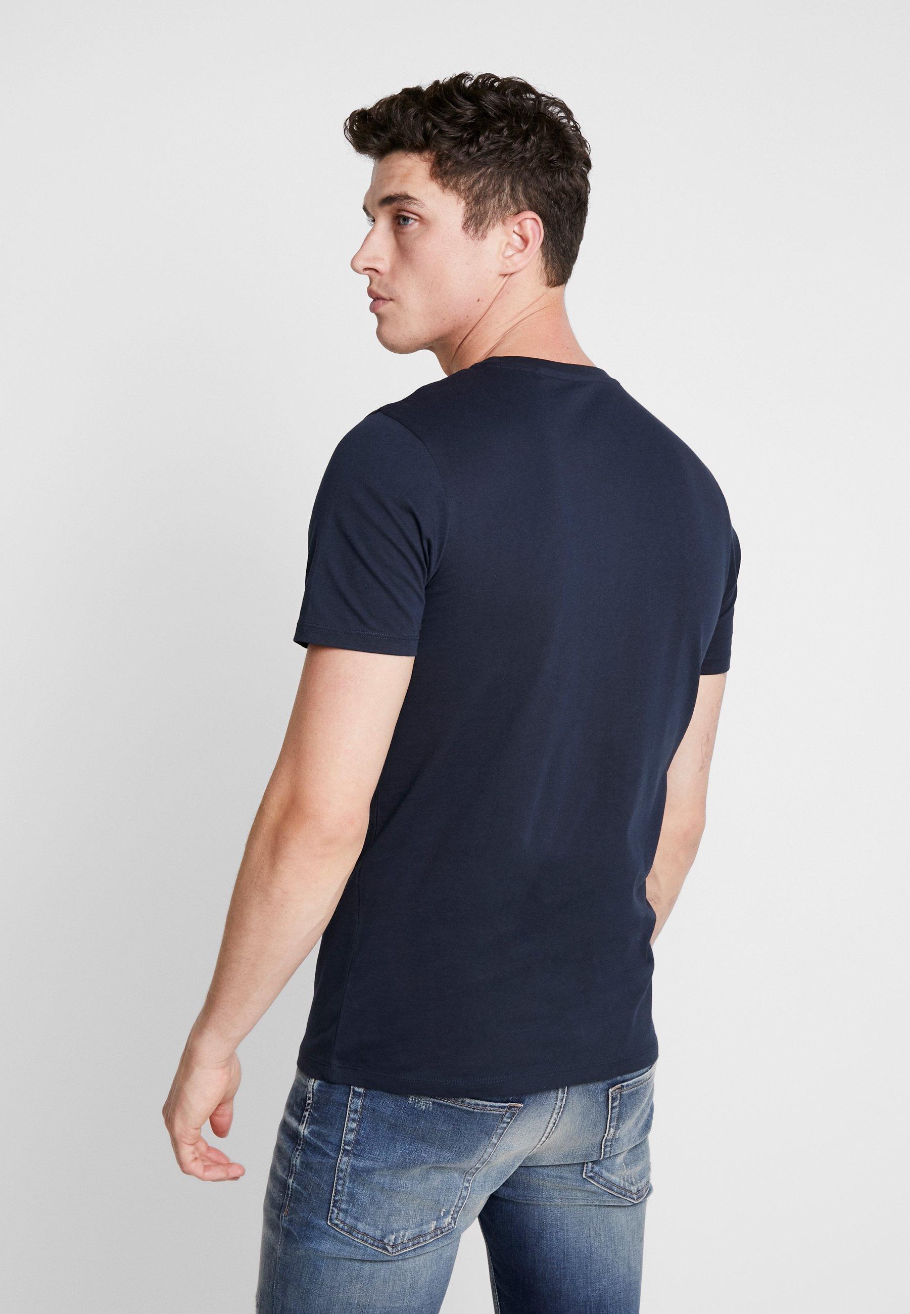 Jack & Jones JJECORP LOGO TEE O-NECK - Print T-shirt - navy blazer vfMu4
