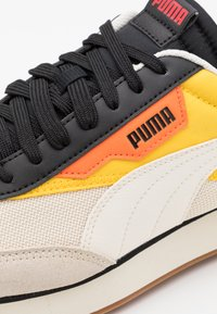 Puma - FUTURE RIDER NEW TONES UNISEX - Sneakers basse - whisper white/super lemon - 5