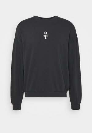 CREW PYRAMID UNISEX - Sweatshirt - black wash
