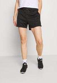 DKNY - MINI LOGO SHORT - Sports shorts - black - 0