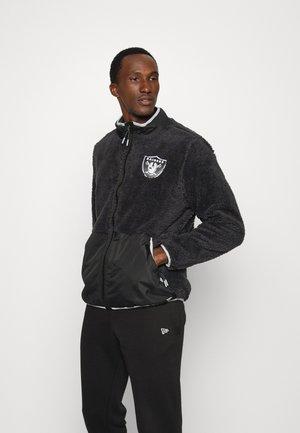 NFL LAS VEGAS RAIDERS SHERPA - Club wear - charcoal