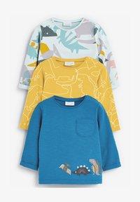Next - 3 PACK DINOSAUR - Print T-shirt - yellow - 0