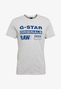 G-Star - GRAPHIC - Print T-shirt - grey - 4