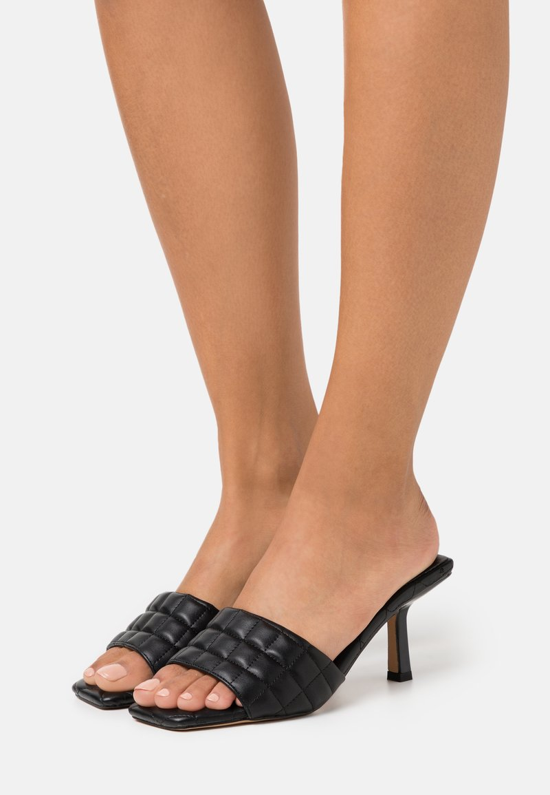 Miss Selfridge - SLEEK - Heeled mules - black