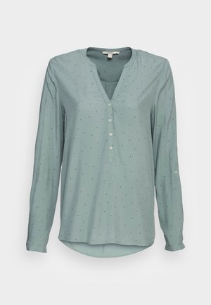 BLOUSES TURNUP - Blouse - dusty green