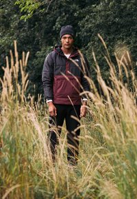 The North Face - INSULATED FANORAK - Outdoorjas - black/deep garnet red - 5