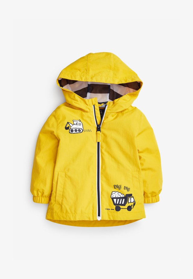 Lehká bunda - yellow