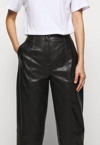 DESIGNERS REMIX - TALIA PANTS - Trousers - black - 4