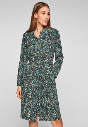 GEBLÜMTES - Shirt dress - forest green