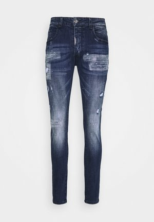 MIRANO CARROT FIT - Džíny Slim Fit - blue