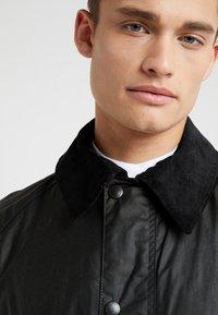 Barbour - ASHBY WAX JACKET - Summer jacket - black - 6