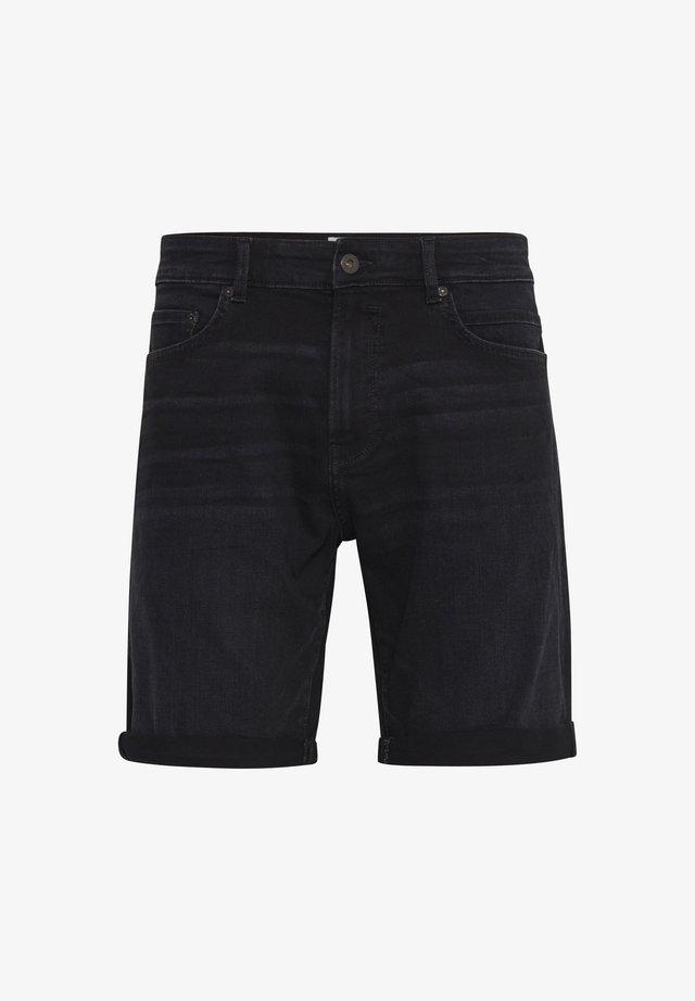 RYDER - Jeans Short / cowboy shorts - black dnm