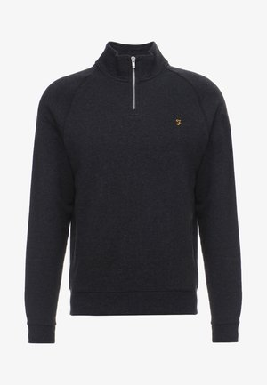 JIM ZIP - Felpa - black marl