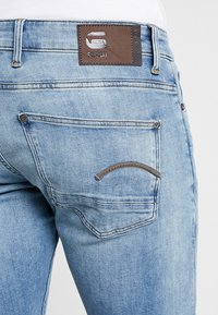 G-Star - REVEND SKINNY - Jeansy Skinny Fit - light indigo aged - 5