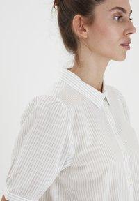 ICHI - IHASILO - Button-down blouse - alloy - 3