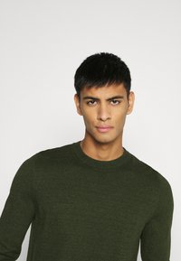 Topman - CREW 2 PACK - Trui - grey/green - 5