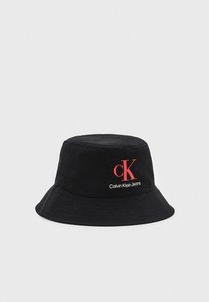MONOGRAM BUCKET HAT UNISEX - Hat - black