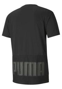Puma - GRAPHIC  - Print T-shirt - puma black - 4