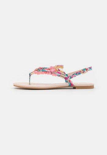 VEGAN REBECCA - T-bar sandals - pink