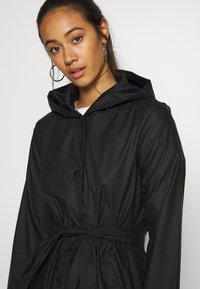 JDY - JDYSHELBY BELT RAINCOAT - Waterproof jacket - black - 4