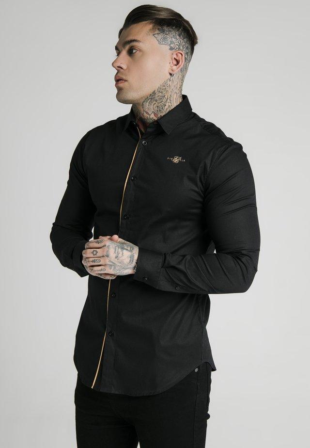 Overhemd - black/gold