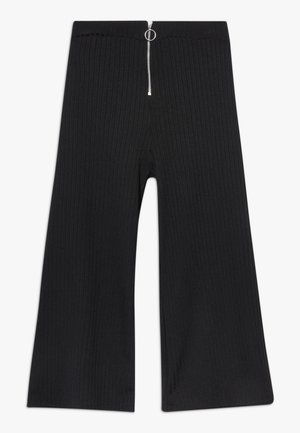 RING PULL CARLY CULOTTE - Pantalones - black