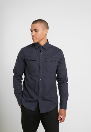 3301 SLIM SHIRT - Shirt - mazarine blue