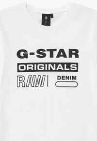 G-Star - TEE - Print T-shirt - white - 2