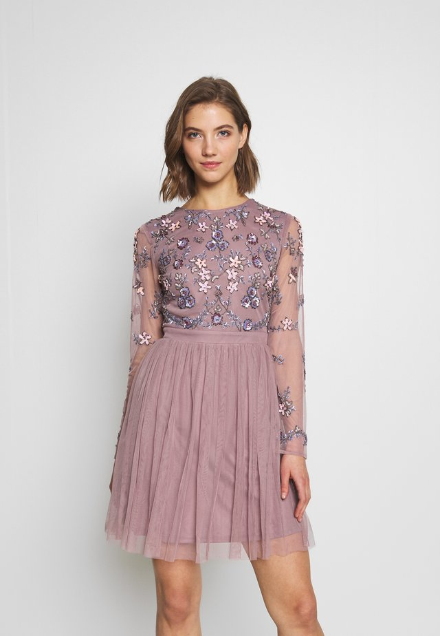 ORI - Suknia balowa - lilac
